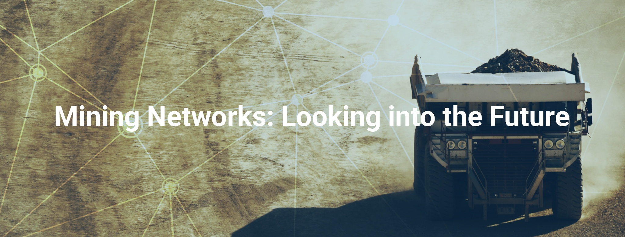 Mining Networks: Looking into the Future
