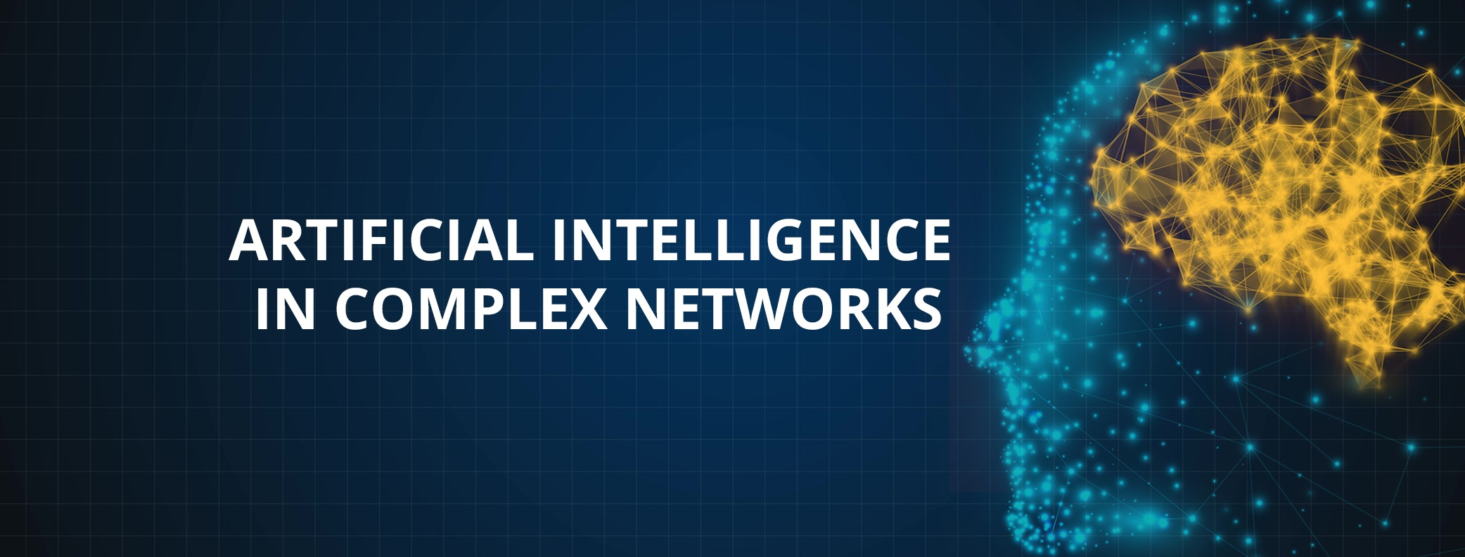 Artificial Intelligence in complex networks